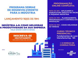 Programa SEBRAE de desenvolvimento para indústria