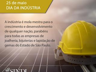 25 de maio: Dia da Indústria