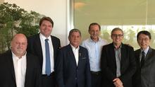 Representantes do SINDIJOIAS e FIESP participam de encontro, na ocasião receberam Sampaio Filho