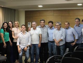 Reunião de Empresários na sede do SINDIJOIAS-SP.