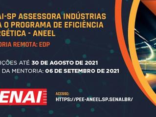 SENAI-SP assessoria indústrias para o programa de eficiência energética - ANEEL