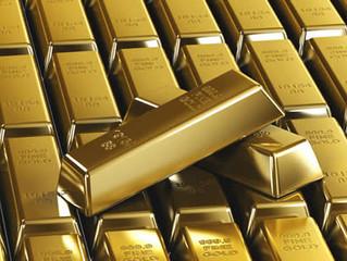 Investimentos e negociações em ouro crescem quase 24%