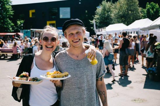 Kom på Oslo Vegetarfestival og nyt alt det vegetariske kjøkken har å by på