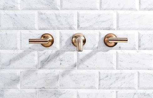 Carrara Beveled 3x6 Polished Marble Tile