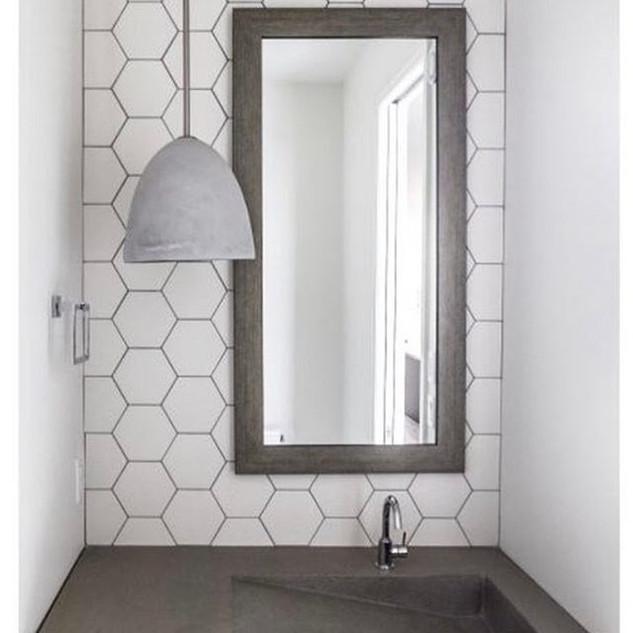 Exagoni Puro Blanco Matte Ceramic Wall T