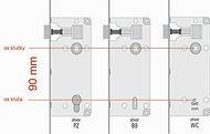 Štandardné rozmery interiérové dvere 90 mm