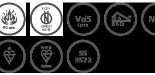 Medzinárodné certifikácie EPS