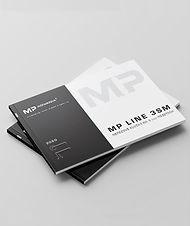 MP LINE 3 SM kľučky na 3 mm rozetách 2019 produktový katalóg
