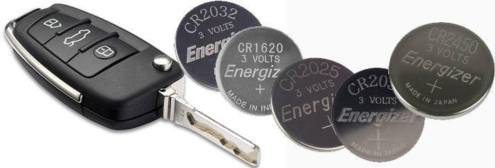 výmena batérii do autoklúčov a diaľkových obládačov