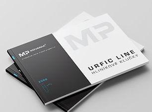 URFIC LINE hliníkové kľučky 2017-2018 produktový katalóg