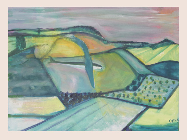 Moderne Landschaft IV