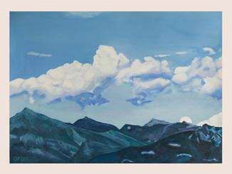 Der Himmel über dem See II