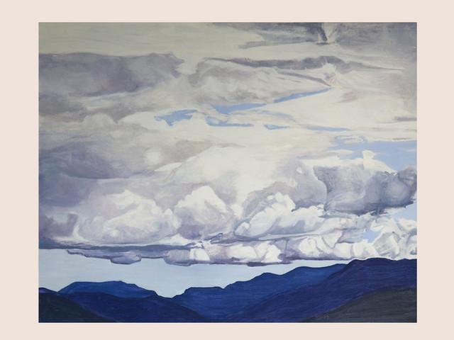Der Himmel über dem See