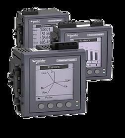 Power Meters serie Powerlogic a través de Ecostruxure de Schneider Electric por Transfertec Ingeniería