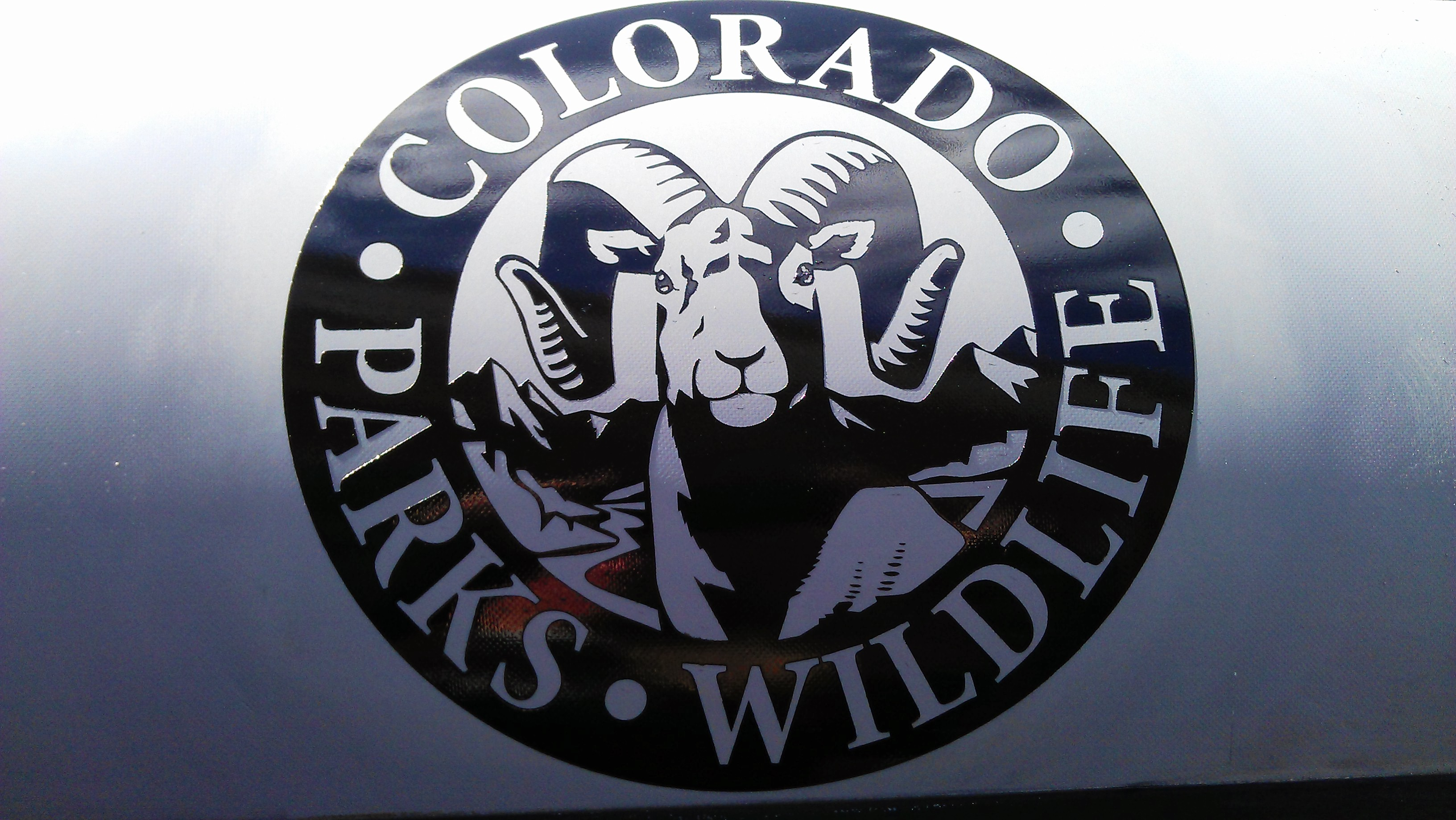 Colorado Parks & Wildlife Raft Logo