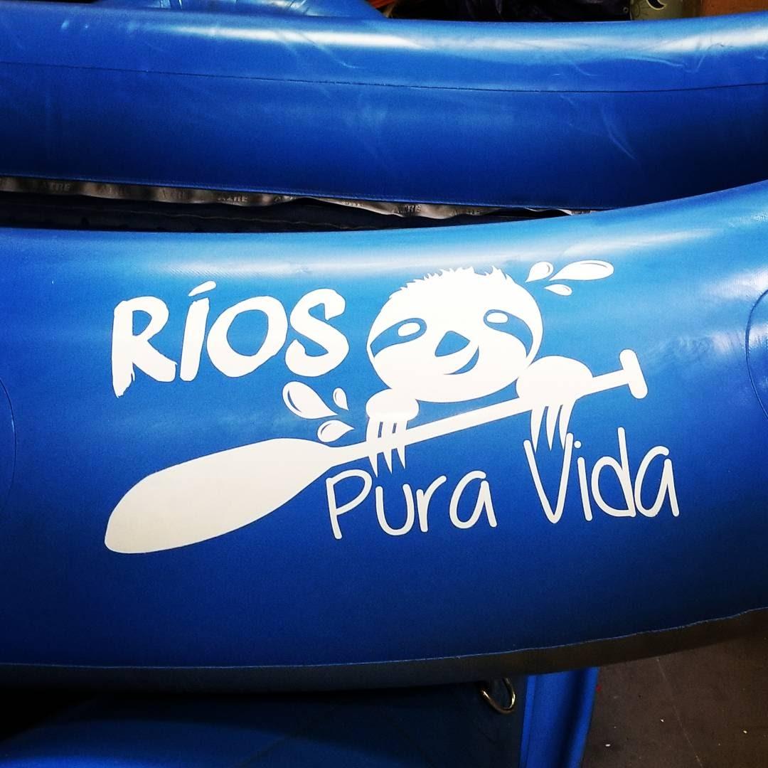 Rios Pura Vida Rafting Logo