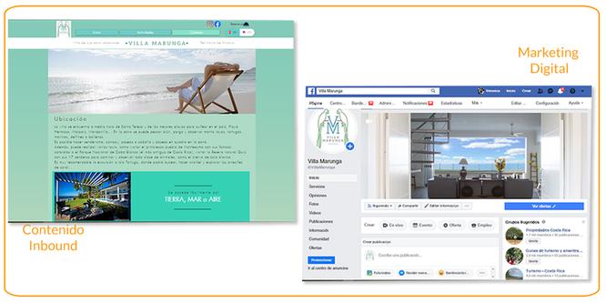 páginas web - marketing de contenido