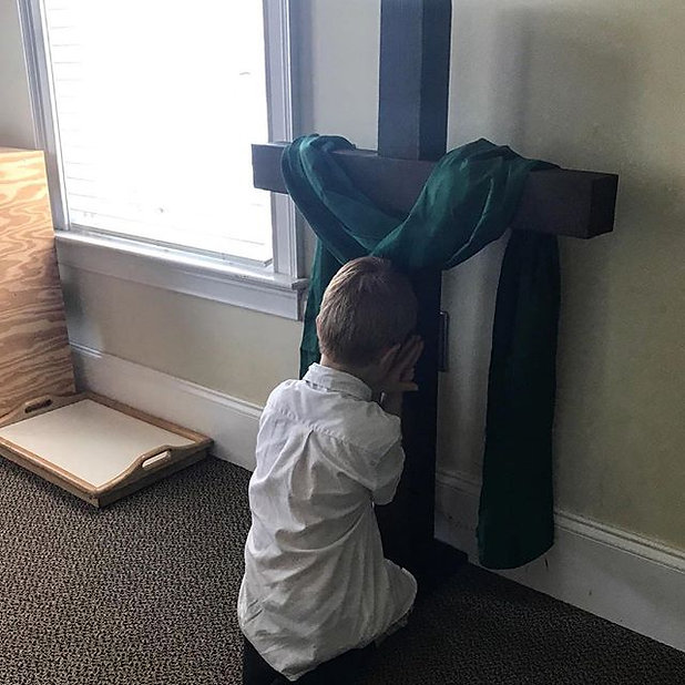 When a child chooses to pray rather than