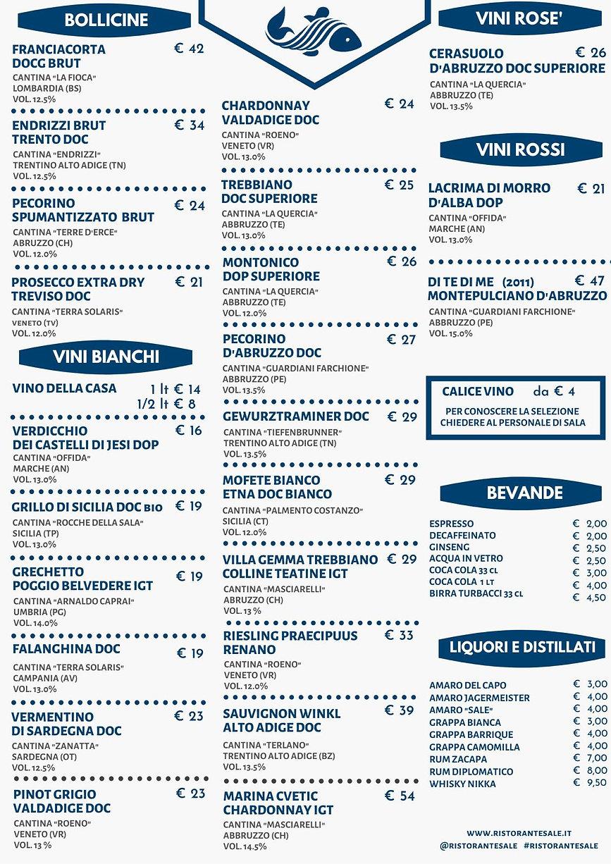 ristorante di pesce, ristorante sale, fonte nuova