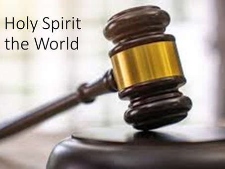 The Holy Spirit and the World