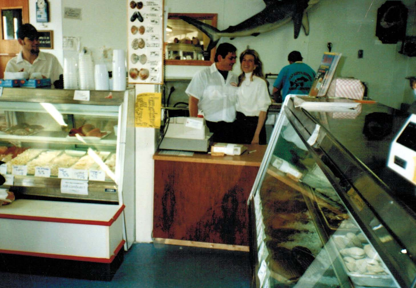 Steve and Susan at the counter.jpg