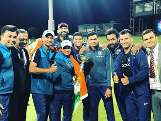 FORMER STCC PLAYER ABHAY SHARMA  WINS U/19 WORLD CUP WITH INDIA