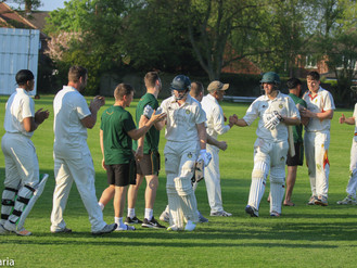 BANSAL AND SNOWDEN HIT HALF CENTURIES AS 1st XI GET OFF TO WINNING START IN THE ECB.....