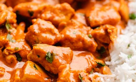South Park Chicken Tikka Masala and Rice or Quinoa