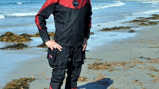 UTD 370AG Standard Trilaminate Drysuit (Soft, flexible)