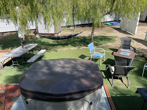 Private Deluxe Day Use Cabana & Glamping  #1 - Per Person/Pet