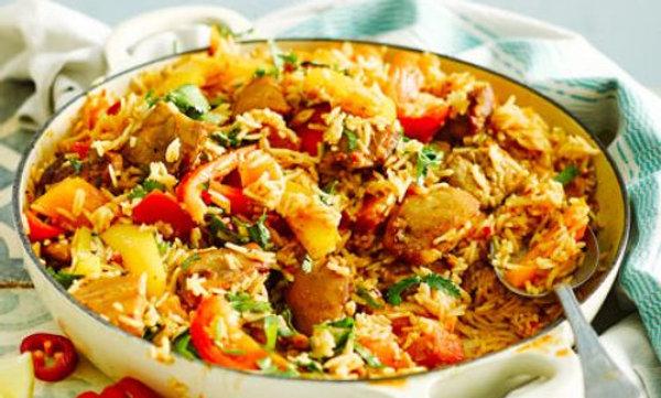 Mozambican Peri Peri Chicken with Quinoa or Rice