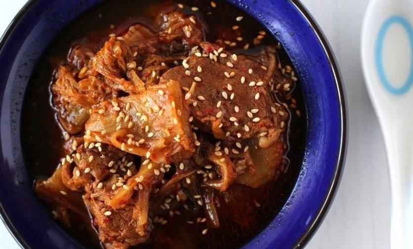 Korean Kimchi Pork Stew