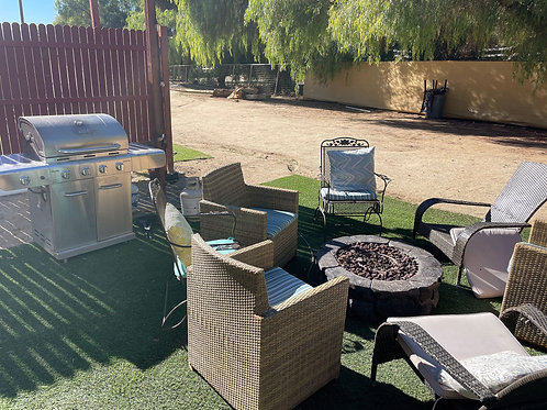 Standard Day Use Cabana &  Glamping - Per Person/Pet