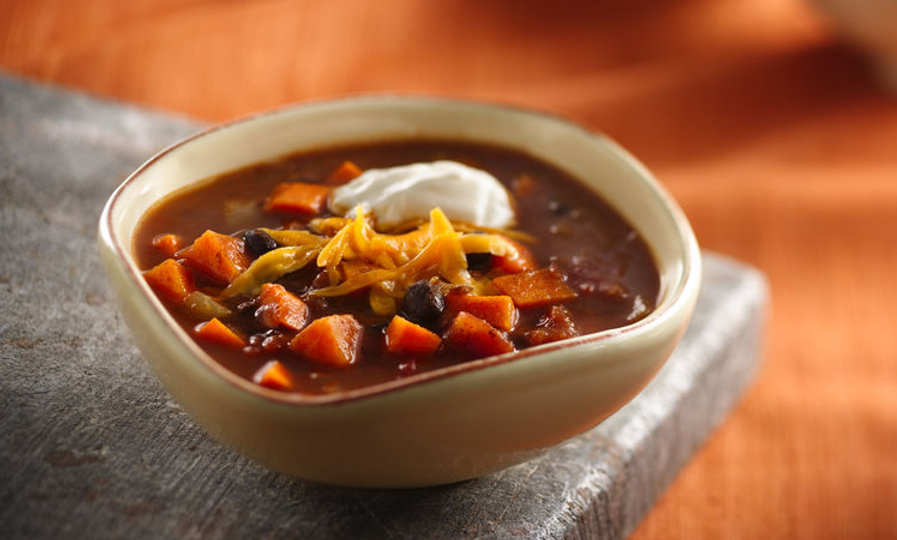 Encinitas Black Bean and Sweet Potato Chili