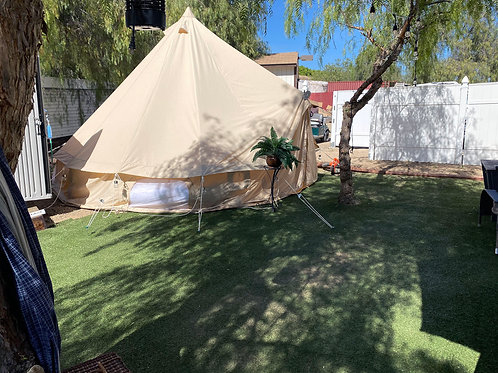 Rent A Setup Canvas Tent