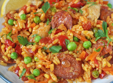 Day 17: Spain and Paella