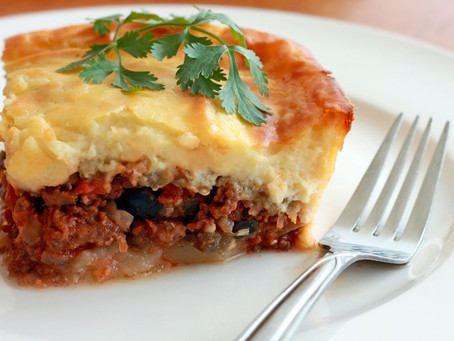 Day 19: Greek Moussaka and Potato