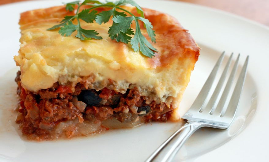 Greek Moussaka w/ Potatoes