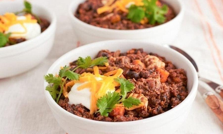 La Jolla Chicken and Lentil Curry Chili