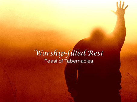 TABERNACLES IS A FEAST OF REST