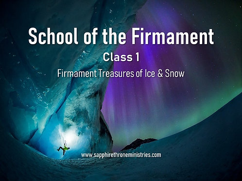 FIRMAMENT TREASURES OF ICE & SNOW