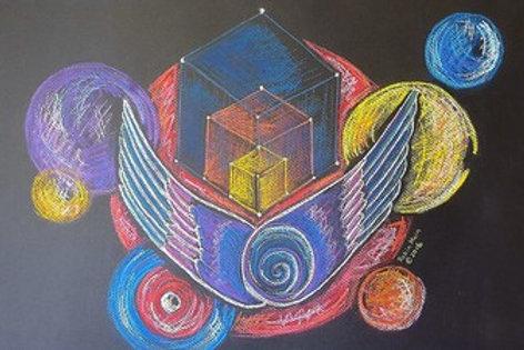 MM ARTIST'S ASCENSION #8 - Original Art