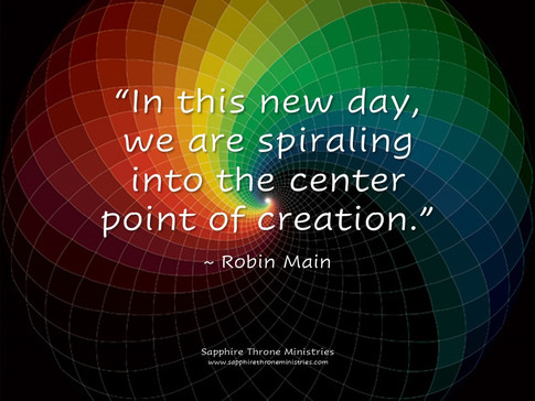 CENTER POINT OF CREATION