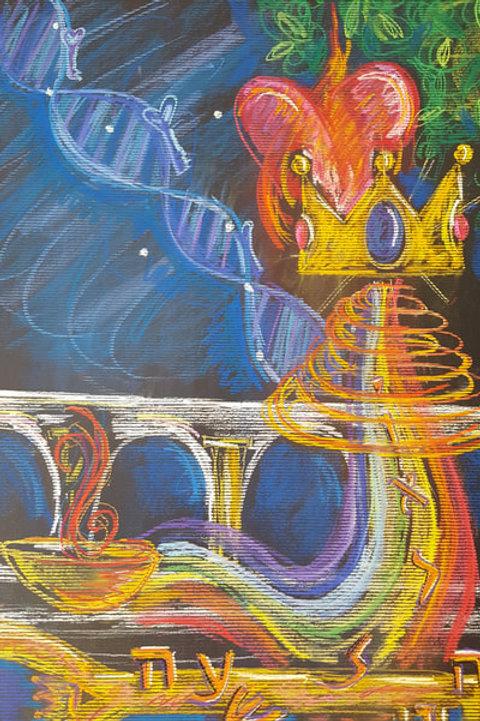 MM ARTIST'S ASCENSION #3 - Original Art