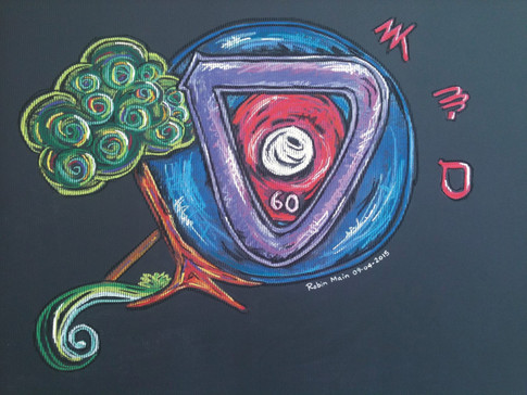 HEBREW LIVING LETTER ™ - SAMECH - THE ENDLESS CYCLE