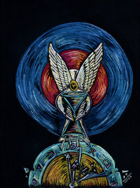 MELCHIZEDEK SHATTERING TIME - Original Art