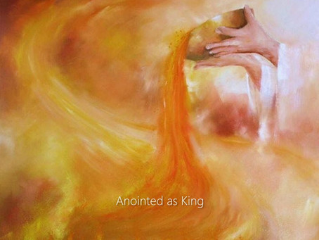 DAVID ANOINTED AS KING