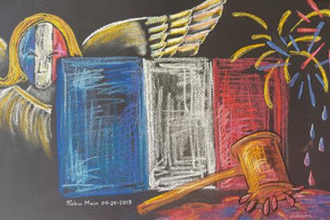 MM ARTIST'S ASCENSION #5 - Original Art