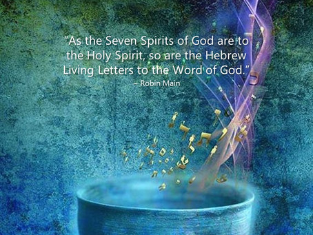 HEBREW LIVING LETTERS TO THE WORD OF GOD