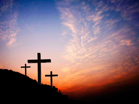 THE CRUCIFIED ONE IN THE MIDST OF GOD'S KINGDOM